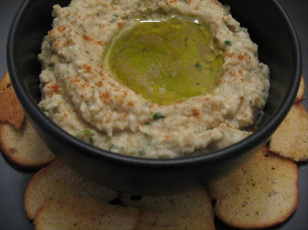 Artichoke and Cannellini Bean Dip. Photo by Engrossed