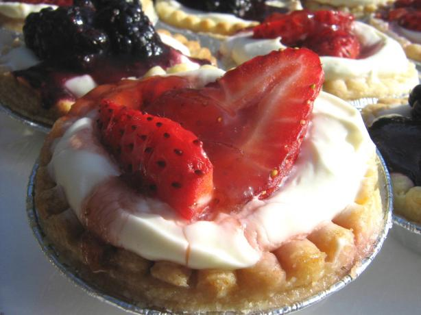 Strawberry Cheesecake Tarts. Photo by ~Leslie~