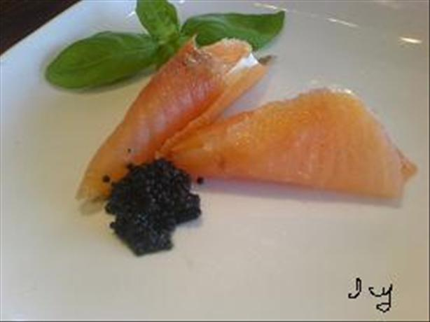Lox  Cornucopia  Appetizer. Photo by ~Icy~