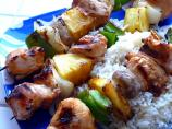 Quick &amp; Tasty Hawaiian Chicken Kebabs