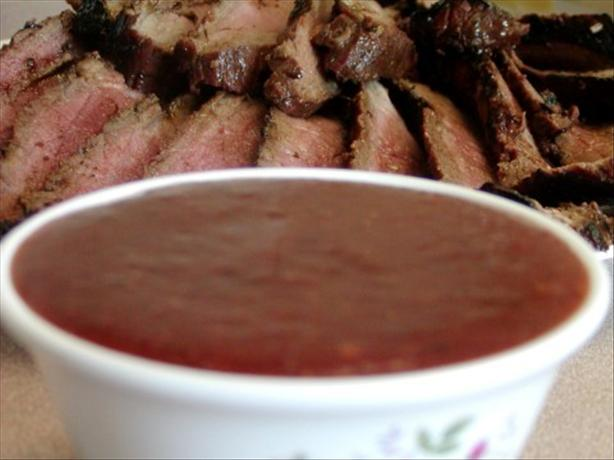 Sweet-hot Strawberry Bbq Sauce. Photo by Rita~