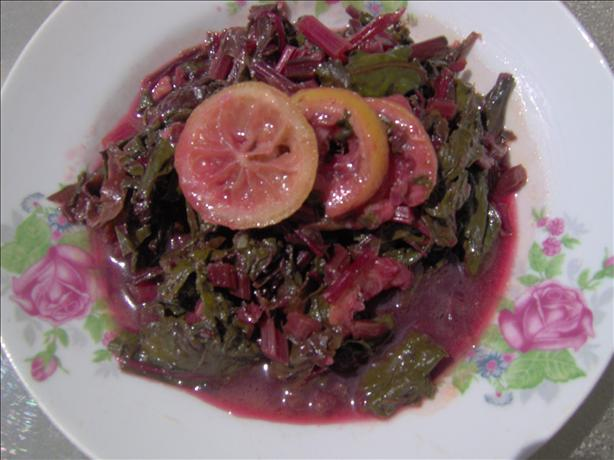 Bitter Lemon, Honey & Sweet Simmered Greens. Photo by Sharon123