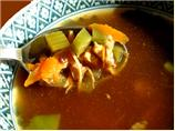 Hot and Sour Turkey Soup