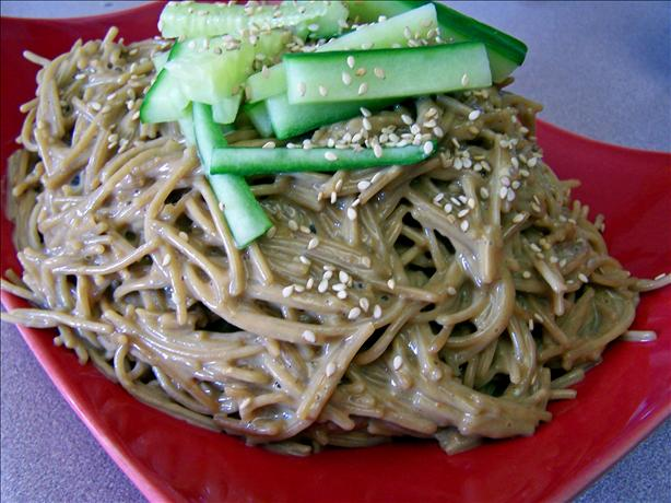 Cold Sesame Noodles. Photo by Rita~