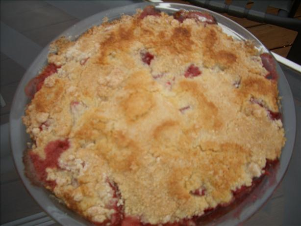 Simple Strawberry Cobbler. Photo by chia