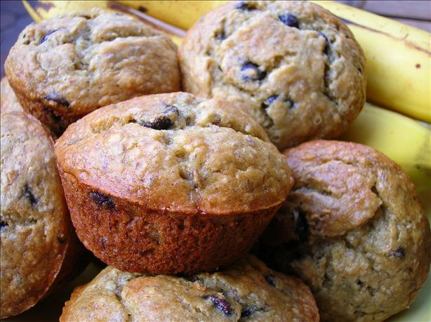 Low Fat Chocolate Chip Banana Muffins. Photo by Pam-I-Am