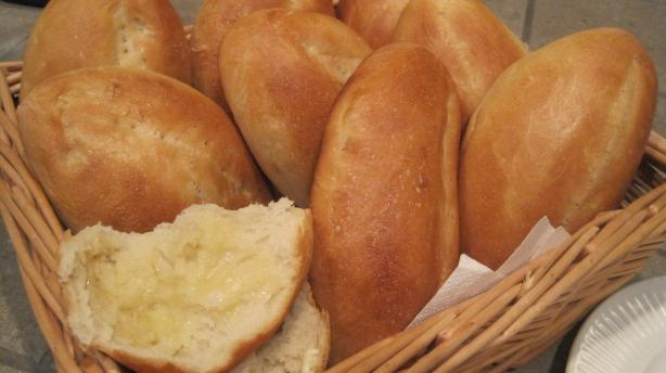 Mexican Bolillos, Crusty oval rolls. Photo by magpie diner