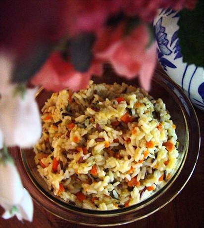White & Wild Rice Pilaf. Photo by Bev