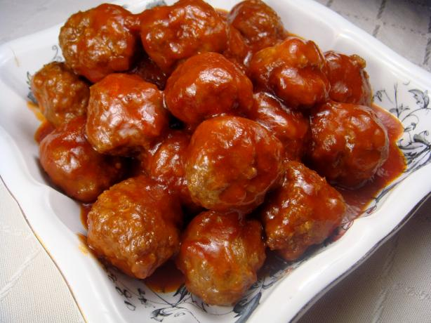 Always Perfect Sweet and Sour Meatballs. Photo by Lori Mama