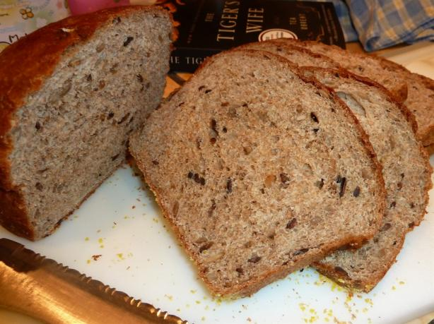 Whole Wheat Bread With Sunflower Seeds. Photo by Ophirmom