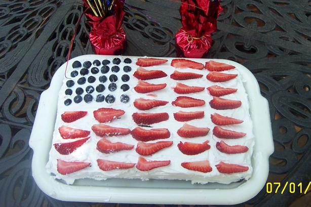 4th of July Cake. Photo by DebbyCzar