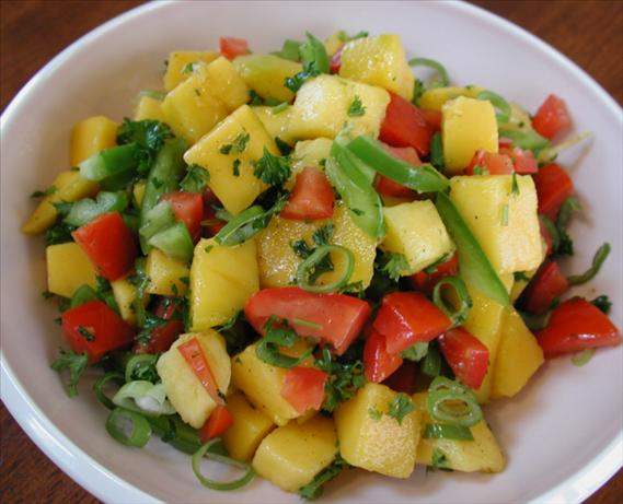 The Mango Salsa Recipe. Photo by Chef floWer
