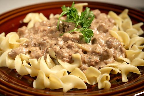 Ground Beef Stroganoff. Photo by tweety3474
