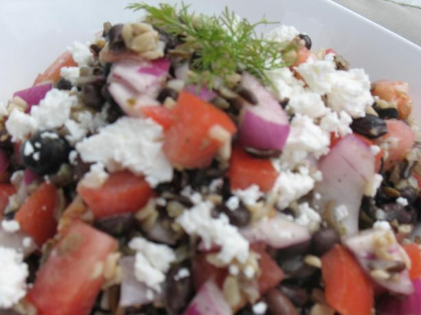 Black Bean and Rice Salad. Photo by Marmie's