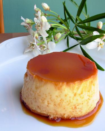 Mexican Flan (Baked caramel Custard). Photo by French Tart