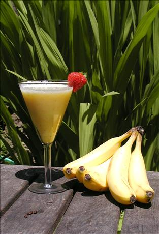 Pineapple and Banana Smoothie. Photo by Mrs Goodall