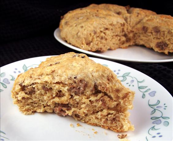 Sausage and Cheese Scones for Your Freezer. Photo by PaulaG