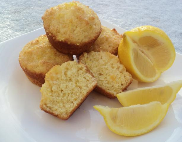 Lotta Lemon Muffins. Photo by Nif