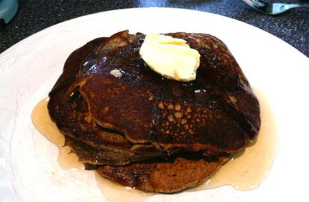 Buttermilk Buckwheat Pancakes (gluten Free). Photo by Mikekey