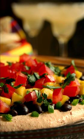 Sunny Caribbean Black Bean and Mango Dip. Photo by GaylaJ