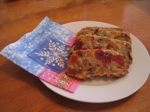 The World's Best Fruitcake. Photo by Lorrie in Montreal