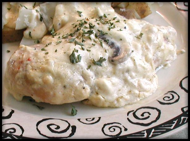 Crock Pot Cream Cheese Chicken. Photo by Sandi (From CA)