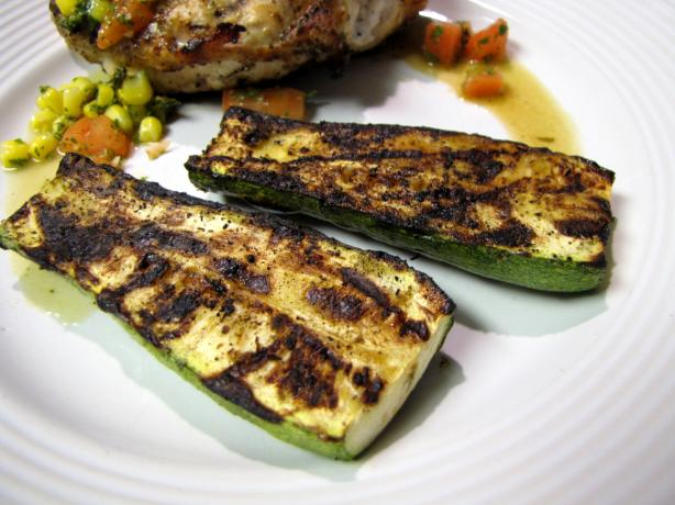 Grilled Zucchini With Cumin. Photo by loof