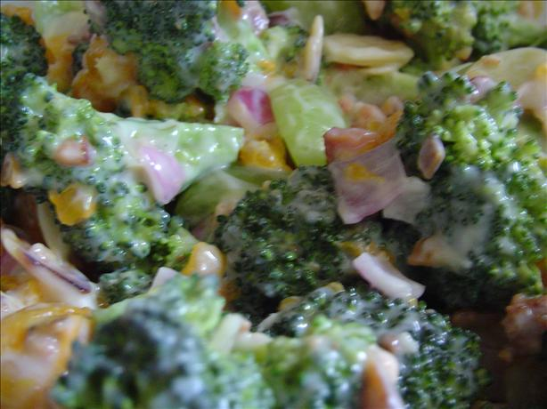 Broccoli Orange Salad. Photo by CountryLady