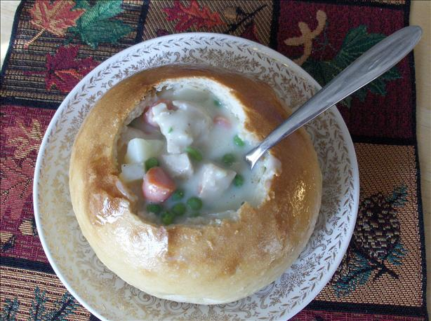 Chicken Pot  Pie Soup. Photo by startnover