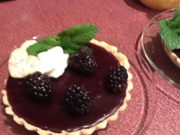 Blackberry Pudding Tarts. Photo by CIndytc