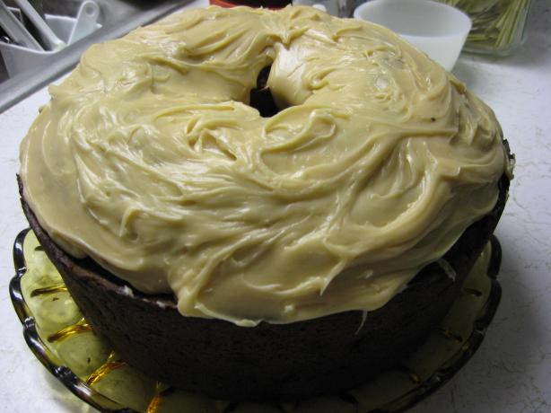 Pumpkin Spice Cake with Maple Icing. Photo by Jabbasaurus Rex