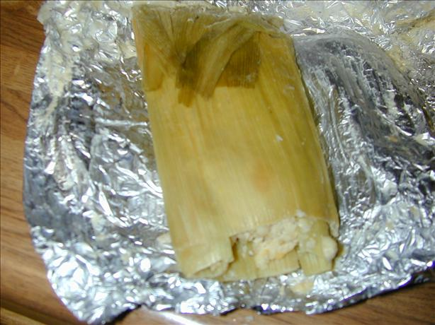 Green Corn Tamales. Photo by Barb Gertz