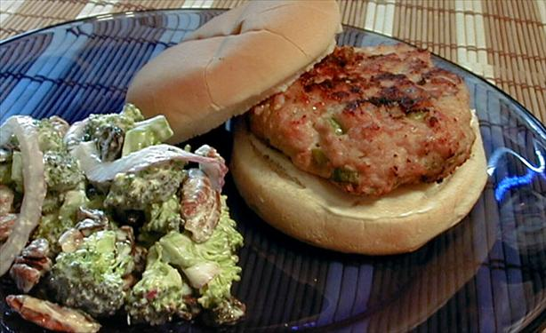 Scallion Sesame Turkey Burger. Photo by ms_bold