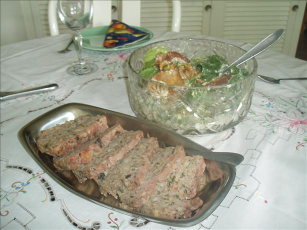 Spinach Meatloaf. Photo by bluemoon downunder