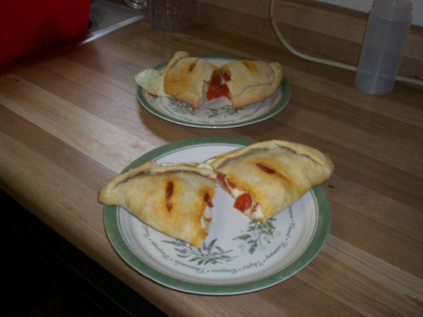 Easy Cheesy Calzone. Photo by Krislady