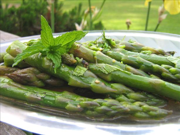 Asparagus With Lemon and Mint. Photo by ~Leslie~
