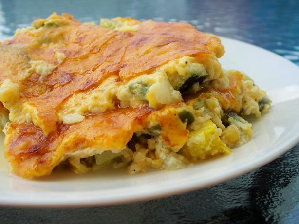 Zucchini-Corn Casserole. Photo by *Parsley*