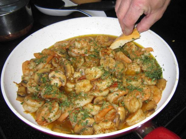 Gambas Al Ajillo (Shrimp W/ Garlic) Catalonia. Photo by Notherjack