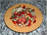 Two Bean & Artichoke Salad