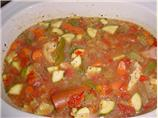 Ali's Chicken and Sausage Gumbo