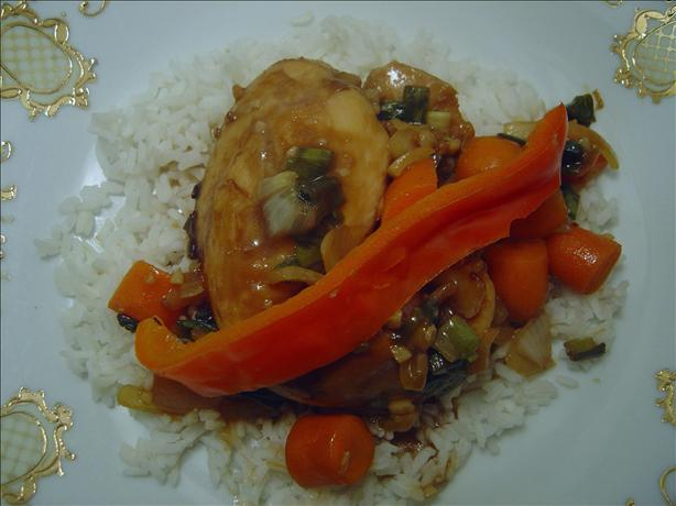Baked Chicken Teriyaki. Photo by BLUE ROSE
