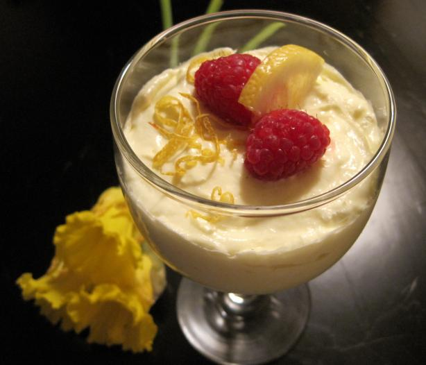 Super Easy Lemon Mousse. Photo by Lynn in MA