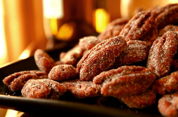 Honey-Chipotle Pecans. Photo by GaylaJ