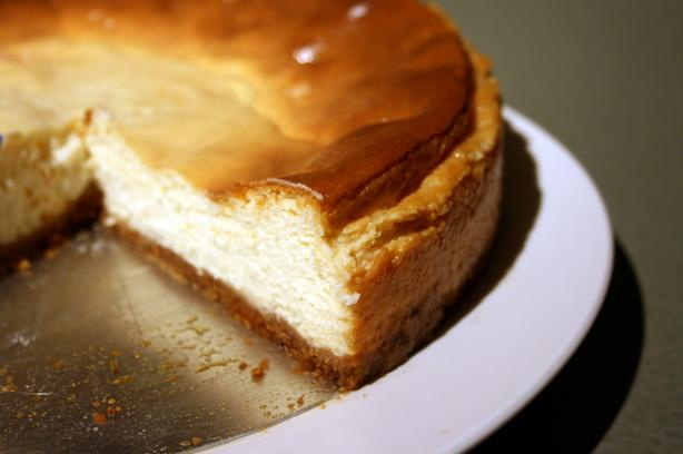 "Light New York Cheesecake 1 - 9"" cake 