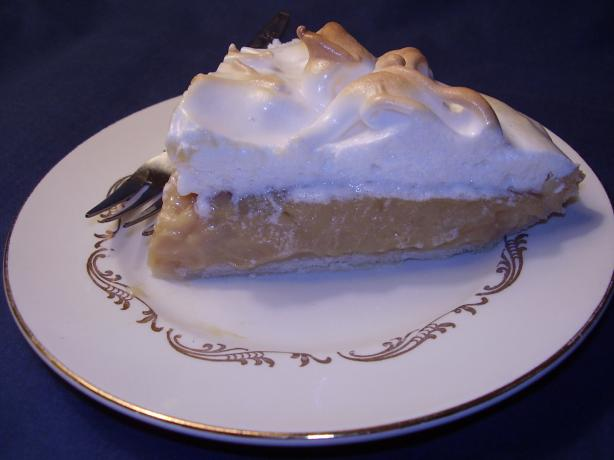Jolean's Butterscotch Pie,  Pennsylvania Dutch Style. Photo by NoraMarie