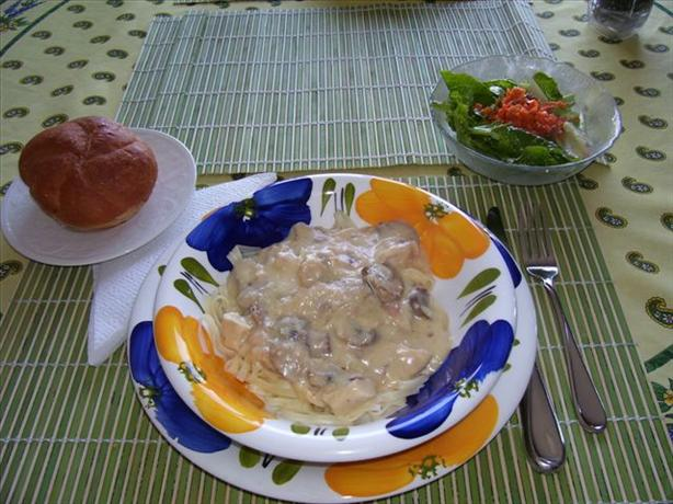 No-Cream Alfredo Sauce. Photo by Sage