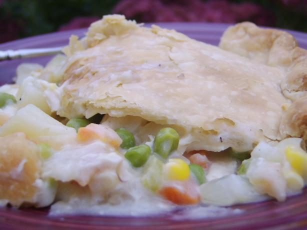 Homemade Chicken Pot Pie. Photo by LifeIsGood