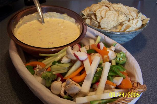 Velveeta Hot 'n Cheesy Crab Dip. Photo by Krsi Sue