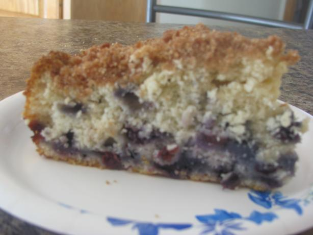 Sue B's Blueberry Buckle. Photo by Bonnie Young