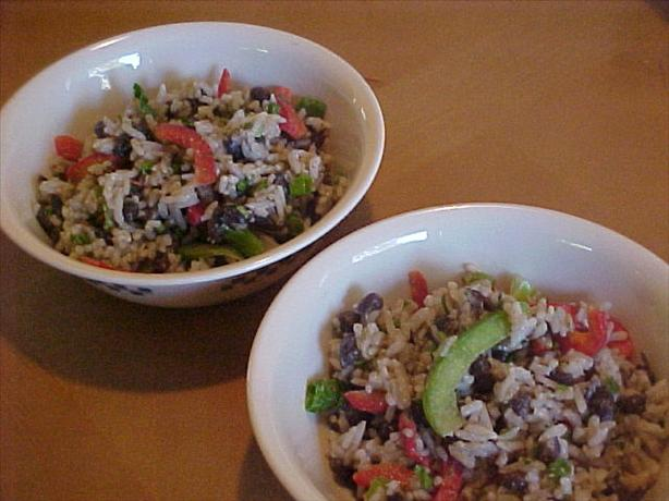 Black Bean and Rice Salad. Photo by ATM 67